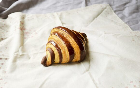 Croissant ganache au chocolat