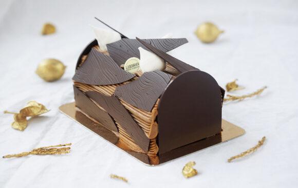 Bûche roulée crème au beurre / Chocolat
