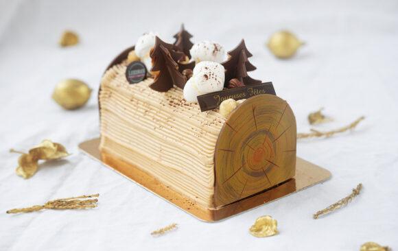 Bûche roulée crème au beurre / Café