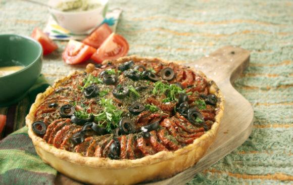 Tarte provençale (en saison)